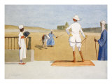 The Dandy Tourist, from 'The Light Side of Egypt', 1908 Giclee Print by Lance Thackeray
