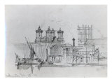 Sketch of Westminster, 1860 Giclee Print by George The Elder Scharf