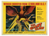 Giant Claw, 1957 Poster