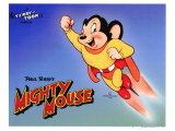 Mighty Mouse, 1943 Reproduction procédé giclée