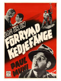 I Am a Fugitive From a Chain Gang, Swedish Movie Poster, 1932 Posters