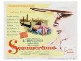 Summertime, 1955 Poster