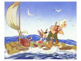 Pinocchio, 1940 Print
