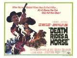 Death Rides a Horse, 1968 Print