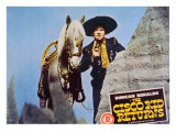The Cisco Kid Returns, 1945 Print