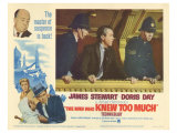 The Man Who Knew Too Much, 1956 Giclee Print
