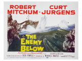 The Enemy Below, 1961 Art