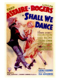 Shall We Dance, 1937 Premium Giclee Print