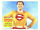 Superman in Scotland Yard, 1954 Giclee Print