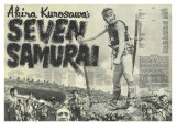 Seven Samurai, 1954 Kunstdrucke