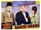 Block-Heads, 1938 Poster