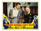 Once Upon a Honeymoon, 1942 Poster