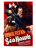 The Sea Hawk, 1940 Poster
