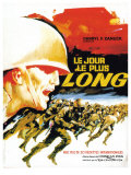The Longest Day, French Movie Poster, 1962 Art