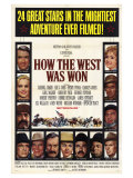 How the West Was Won, 1964 Premium Giclee Print