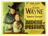 Riders of Destiny, 1934 Posters