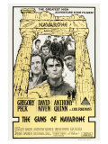 The Guns of Navarone, Australian Movie Poster, 1961 Giclee Print