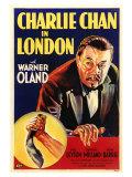 Charlie Chan in London, 1934 Plakaty