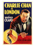 Charlie Chan in London, 1934 Premium Giclee Print