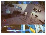 2001: A Space Odyssey, German Movie Poster, 1968 Premium Giclee Print