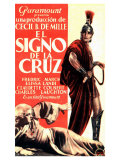 The Sign of the Cross, Spanish Movie Poster, 1932 Posters