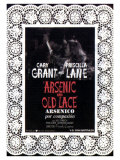 Arsenic and Old Lace, Spanish Movie Poster, 1944 Giclee Print