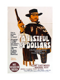 A Fistful of Dollars, Australian Movie Poster, 1964 Giclee Print