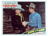 Guns of the Law, 1944 Reproduction proc&#233;d&#233; gicl&#233;e