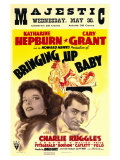 Bringing Up Baby, 1938 Reproduction proc&#233;d&#233; gicl&#233;e