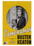 The Cameraman, French Movie Poster, 1928 Premium Giclee Print