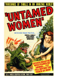 Untamed Women, 1952 Lmina gicle