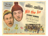 Hit the Ice, 1943 Reproduction procédé giclée