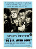To Sir With Love, Australian Movie Poster, 1967 Giclee Print