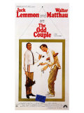 The Odd Couple, 1968 Giclee Print