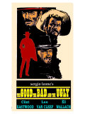 The Good, The Bad and The Ugly, 1966 Premium Giclee Print