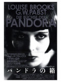 Pandora's Box, Japanese Movie Poster, 1928 Print