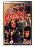Algiers, Belgian Movie Poster, 1938 Reproduction procédé giclée