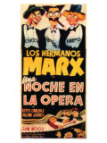 A Night At The Opera, Spanish Movie Poster, 1935 Giclee-vedos