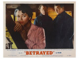 Betrayed, 1954 Posters