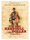 A Fistful of Dollars, German Movie Poster, 1964 Premium Giclee Print