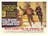 Butch Cassidy and the Sundance Kid, 1969 Premium Giclee Print