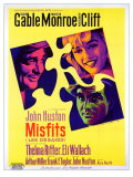 The Misfits, French Movie Poster, 1961 Giclee Print