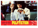 Pulp Fiction, Spanish Movie Poster, 1994 Premium Giclee Print