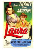 Laura, 1944 Reproduction proc&#233;d&#233; gicl&#233;e