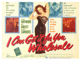 I Can Get It for You Wholesale, 1951 Giclee Print