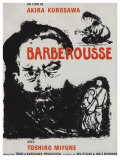 Red Beard, French Movie Poster, 1964 Poster