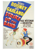 Strike Up the Band, 1940 Lámina giclée
