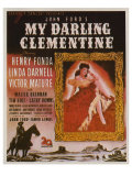 My Darling Clementine, 1946 Print