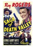 Saga of Death Valley, 1939 - Reprodüksiyon