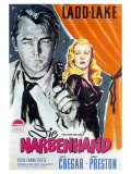This Gun For Hire, German Movie Poster, 1942 Prints